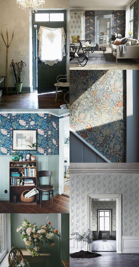 top 10 ambientes com papel de parede kika junqueira. Black Bedroom Furniture Sets. Home Design Ideas