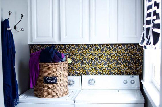 eh!DÉCOR | Organização e decoração de lavanderia pequena